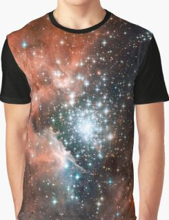 Red Galaxy 2.0 Graphic T-Shirt