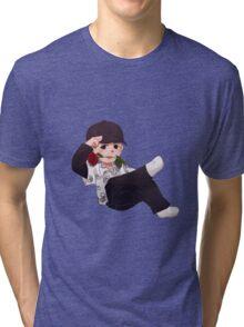 Flowerboys Sonyeondan - Min Swag Tri-blend T-Shirt