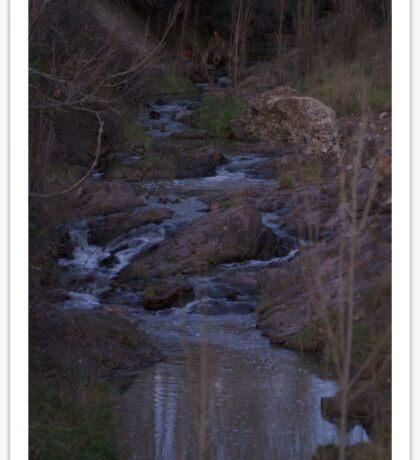 Hidden creek Sticker