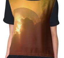 Dome Over The Sunset Chiffon Top