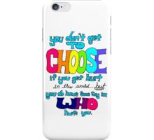 Fault in Our Stars Life Quote iPhone Case/Skin