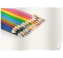 Coloured Pencils Poster