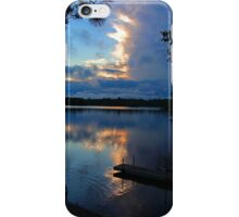 Storm Overtakes the Sunset iPhone Case/Skin