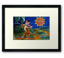 Chinacat Sunflower Framed Print