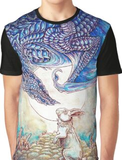 The Dragon & The Rabbit Graphic T-Shirt
