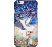 The Dragon & The Rabbit iPhone Case/Skin