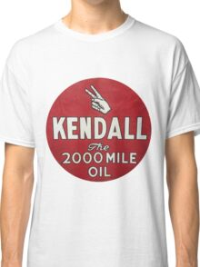 Vintage Kendall Motor Oil Sign Classic T-Shirt