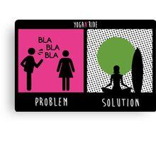 Yoga Solution Canvas Print