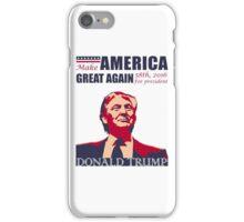 make america great again iPhone Case/Skin