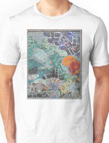 Seaside, underwater themed mosaic 1 Unisex T-Shirt