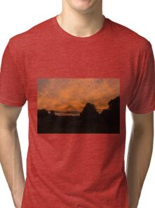 Morning dawn in the country Tri-blend T-Shirt