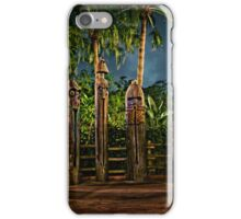 The Angered Tiki Gods iPhone Case/Skin
