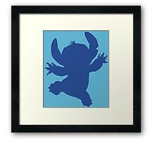 Stitch shadow Framed Print