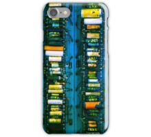 Vintage electronic board iPhone Case/Skin