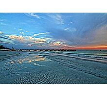 Summer Nights - Florida Seascape Photographic Print