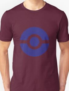 pokemon trainer logo blue Unisex T-Shirt