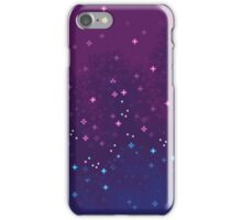 Bi Pride Flag Galaxy (8bit) iPhone Case/Skin