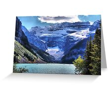 Lake Louise Banff Greeting Card