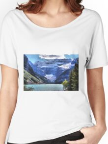 Lake Louise Banff Women's Relaxed Fit T-Shirt