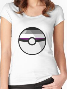 Ace Pokeball Women's Fitted Scoop T-Shirt