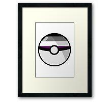 Ace Pokeball Framed Print