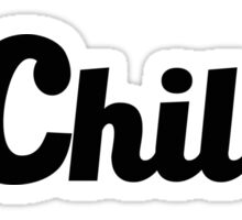 DChillin  Sticker