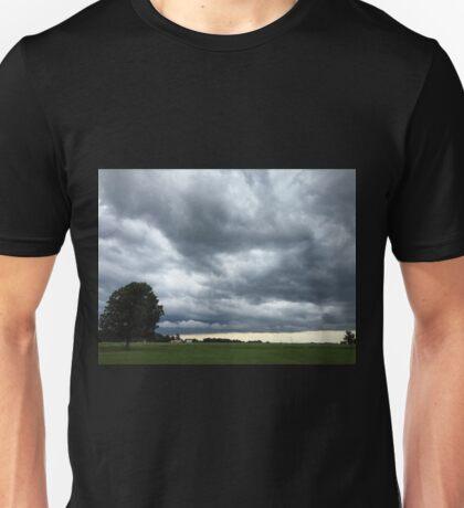Under Threatening Skies...(Part 1) Unisex T-Shirt