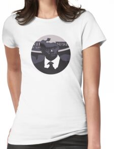Black Bush Womens Fitted T-Shirt