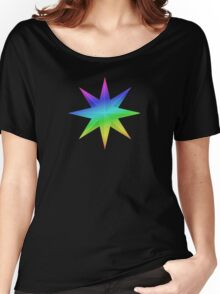 MLP - Cutie Mark Rainbow Special – Prince Blueblood V3 Women's Relaxed Fit T-Shirt