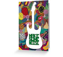 Make some noise (music) Greeting Card