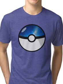 Space Pokeball Tri-blend T-Shirt