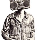 Radio-Head by Kate Powell