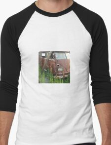 Vintage Volkswagon Van Automotive Men's Baseball ¾ T-Shirt