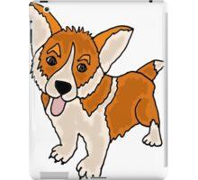 Cute Cool Funny Welsh Corgi Puppy Dog Art iPad Case/Skin