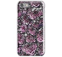 Abstract Pink Nature Pattern iPhone Case/Skin