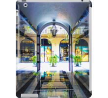 Fashion House in Via Monte Napoleone - Milan, Italy iPad Case/Skin