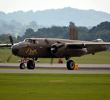 B-25 Mitchell(PH-XXV) by Andy Jordan