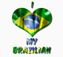 I Love My Brazilian Women's Fitted Scoop T-Shirt