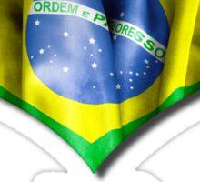 I Love My Brazilian Sticker
