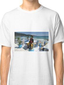 YO HO HO ! AND A BOTTLE OF  OUZO. Classic T-Shirt