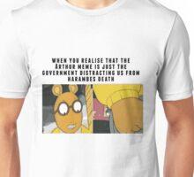 arthur vs harambe Unisex T-Shirt