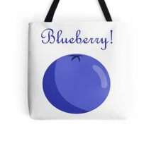 A Blueberry. Tote Bag
