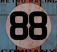 "Retro Racing Company ""88"" by Remoco"