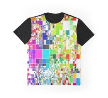 Abstract Maze Graphic T-Shirt