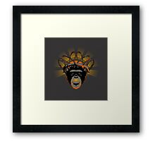 CLOCKWORK BANANA Framed Print