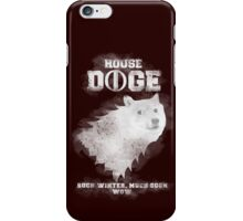 House Doge - Such Winter, Much Soon iPhone Case/Skin