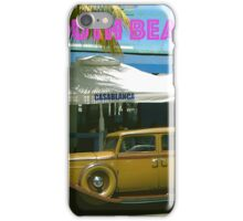 SOUTH BEACH TRANSPORTATION iPhone Case/Skin