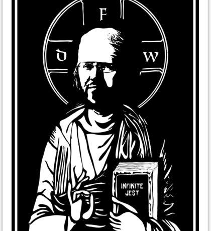 David Foster Wallace - Infinite Jest Sticker