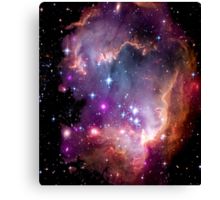 Colorful Galaxy Pattern Canvas Print