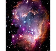 Colorful Galaxy Pattern Photographic Print
